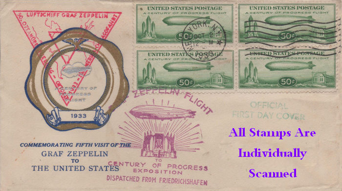 All Stamps Individually Scanned