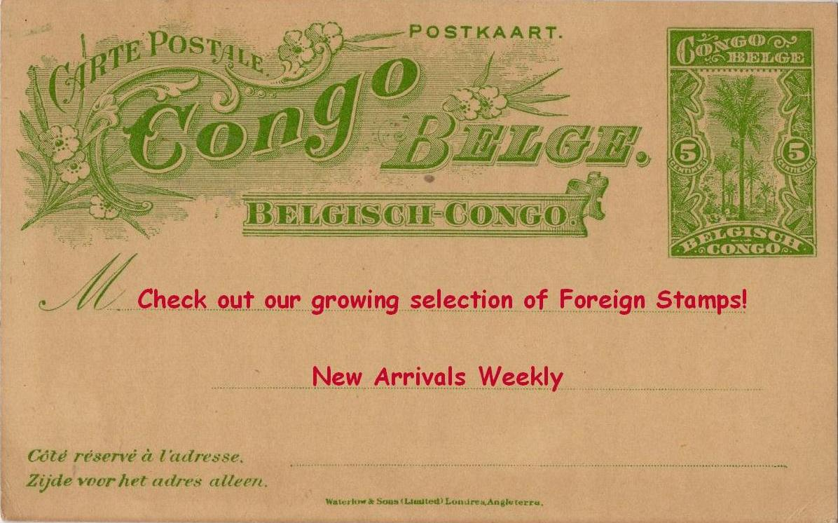 Foreign Stamps Added Weekly
