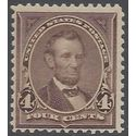 # 269 4c Abraham Lincoln 1895 Mint NH