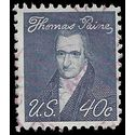 #1292a 40c Prominent Americans Thomas Paine 1973 Used