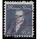#1292 40c Prominent Americans Thomas Paine 1968 Used