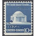 #1510c 10c Jefferson Memorial Booklet Single 1973 Mint NH