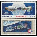 #1569-1570 10c Apollo Soyuz Space Project Pair 1975 Mint NH