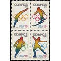 #1695-1698 13c Olympic Games Block of 4 1976 Mint NH