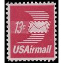Scott C 79 13c US Air Mail Winged Airmail Envelope 1973 Mint NH