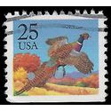 #2283 25c Pheasant Rising Booklet Single 1988 Used