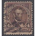 # 254 4c Abraham Lincoln 1894 Used