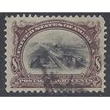 # 298 8c Pan-American Expo.Canal Locks at Sault Ste. Marie 1901 Used