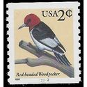 #3045 1c Red-Headed Woodpecker PNC Single #22222 Back# 1999 Mint NH