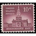 #1044 10c Liberty Issue - Independence Hall 1956 Mint NH