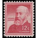 #1045 12c Liberty Issue Benjamin Harrison 1959 Mint NH