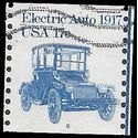#1906 17c Electric Auto 1917 PNC Single #5 1981 Used