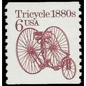 #2126 6c Tricycle 1880s Coil Single 1985 Mint NH