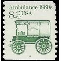 #2128 8.3c Ambulance 1860s PNC Single #2 1985 Used