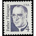 #2171 4c Great Americans Father Flanagan 1986 Mint NH