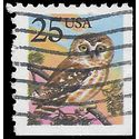 #2285 25c Flora and Fauna Owl Booklet Single 1988 Used