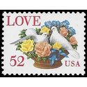 #2815 52c Love Birds in Flower Bouquet 1994 Mint NH