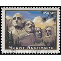 #4268 $4.80 Priority Mail Mount Rushmore 2008 Used