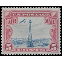 Scott C 11 5c Beacon on Rocky Mountains 1928 Mint NH