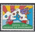 #1527 10c World's Fair Expo '74 1974 Mint NH
