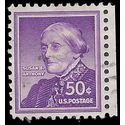 #1051 50c Liberty Issue Susan B. Anthony 1958 Used