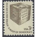 #1584 3c Early Ballot Box 1977 Mint NH