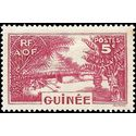 French Guinea 1938 #131 Mint H thin