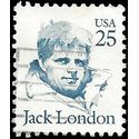 #2182 25c Great Americans Jack London 988 Used