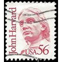 #2190 56c Great Americans John Harvard 1986 Used