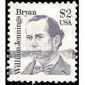 #2195 $2.00 Great Americans William Jennings Bryan 1986 Used