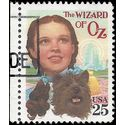 #2245 25c Classic Films The Wizard of Oz 1990 Used