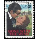 #2246 25c Classic Films Gone With The Wind 1990 Used