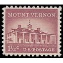 #1032 1 1/2c Mount Vernon 1956 Mint NH