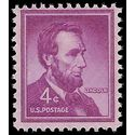 #1036c 4c Abraham Lincoln 1954 Mint NH