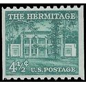 #1059 4 1/2c The Hermitage Coil Single 1959 Mint NH