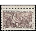#1115 4c Lincoln-Douglass Debates 1958 Mint NH