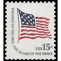 #1597 15c Fort McHenry 15 Star Flag 1979 Mint NH