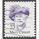 #2181c 23c Great Americans Mary Cassatt 1988 Used