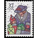 #3111 32c Christmas Family Scenes Holiday Shopping 1996 Mint NH