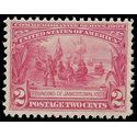 # 329 2c Founding of Jamestown 1907 Mint NH