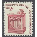 #1582b 2c Speaker's Stand Freedom of Speech 1981 MInt NH