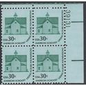 #1606 30c Americana Series Morris Township School No2 PB/4 1979 Mint NH