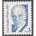 #2170a 3c Great Americans Paul Dudley White M.D. 1994 Mint NH