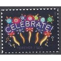 #5019 (49c Forever) Neon Celebrate! 2015 Mint NH