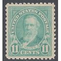 # 563 11c Rutherford B. Hayes 1922 Mint NH