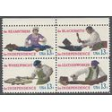 #1717-1720 13c Skilled Hands for Independence Block/4 1977 Mint NH