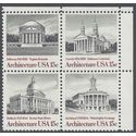 #1779-1782 15c American Architecture Block of 4 1979 Mint NH