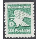 """#2113 22c """"D"""" Rate Eagle Booklet Single 1985 Mint NH"""
