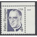 #2171 4c Great Americans Father Flanagan P# 1986 Mint NH