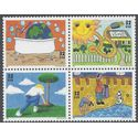 #2951-2954 32c Earth Day Block of 4 1995 Mint NH
